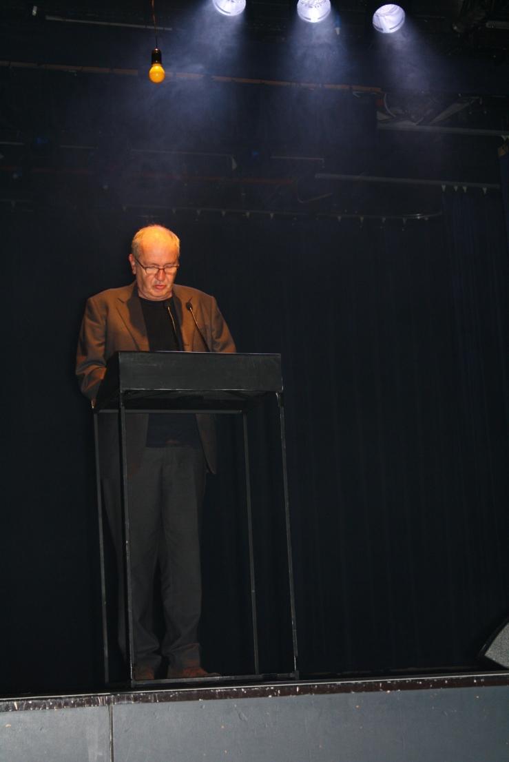 Presentator Piet Piryns