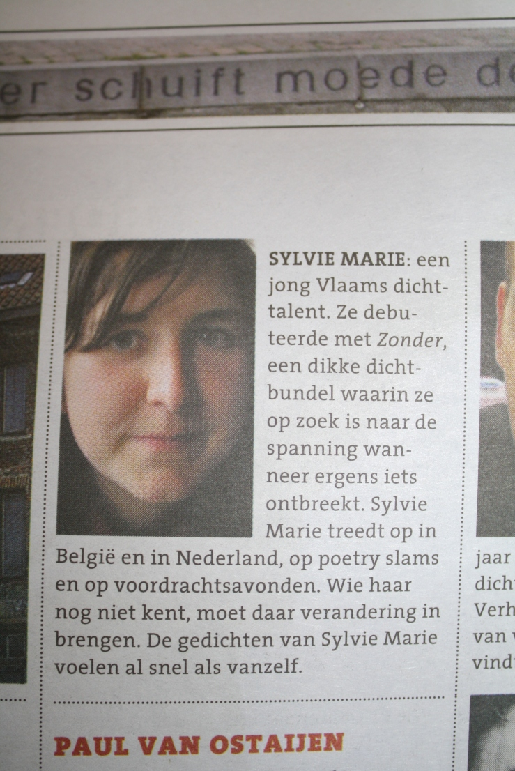 en nog eens elders... in een artikel over half Belg, half Nederlander. Hmm, ik denk dat daar nog wat aan te schaven valt.